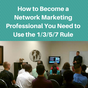 How to Become a Network Marketing professional, network marketing professional, learning curve