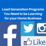 Lead Generation Programs You Need to be Learning for your Home Business, lead generation program, lead generation programs, lead generation system, my lead system pro, lead system, lead generation system, lead generation training