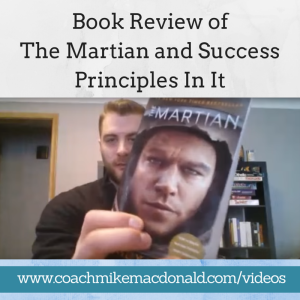 Book Review of The Martian and Success Principles In It, the martian, the martian andy weir, andy weir the martian, the martian book, the martian review,