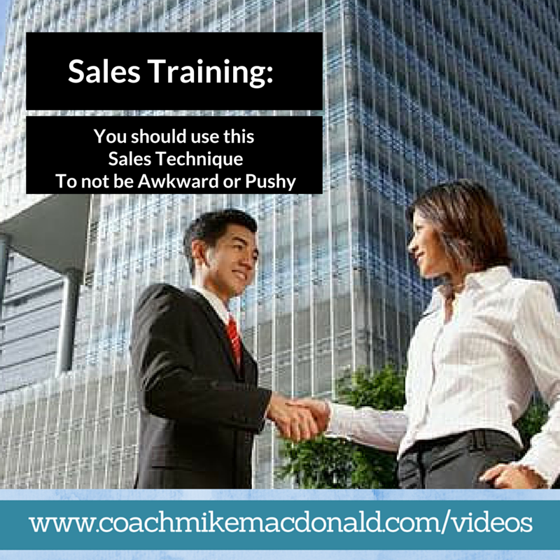 Sales Training Strategies: Sales Training: You Should Use This Sales Technique To Not