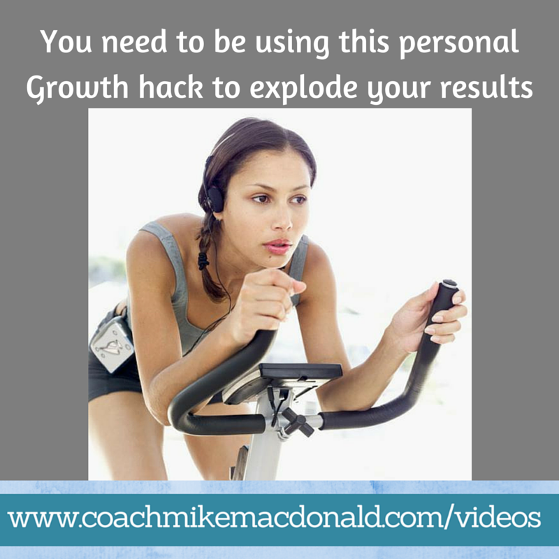 You need to be using this personal growth hack to explode your results, personal growth, personal development, personal growth and development, life hacks, life hack, leadership development
