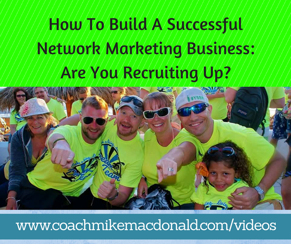 How to build a successful network marketing business are for Marketing to builders
