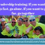 leadership development, leadership training, go fast,