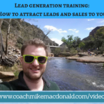 Lead generation training- How to attract leads and sales to you, lead generation, lead generation training, how to attract leads, how to attract sales,