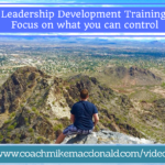 development training focus on what you can control