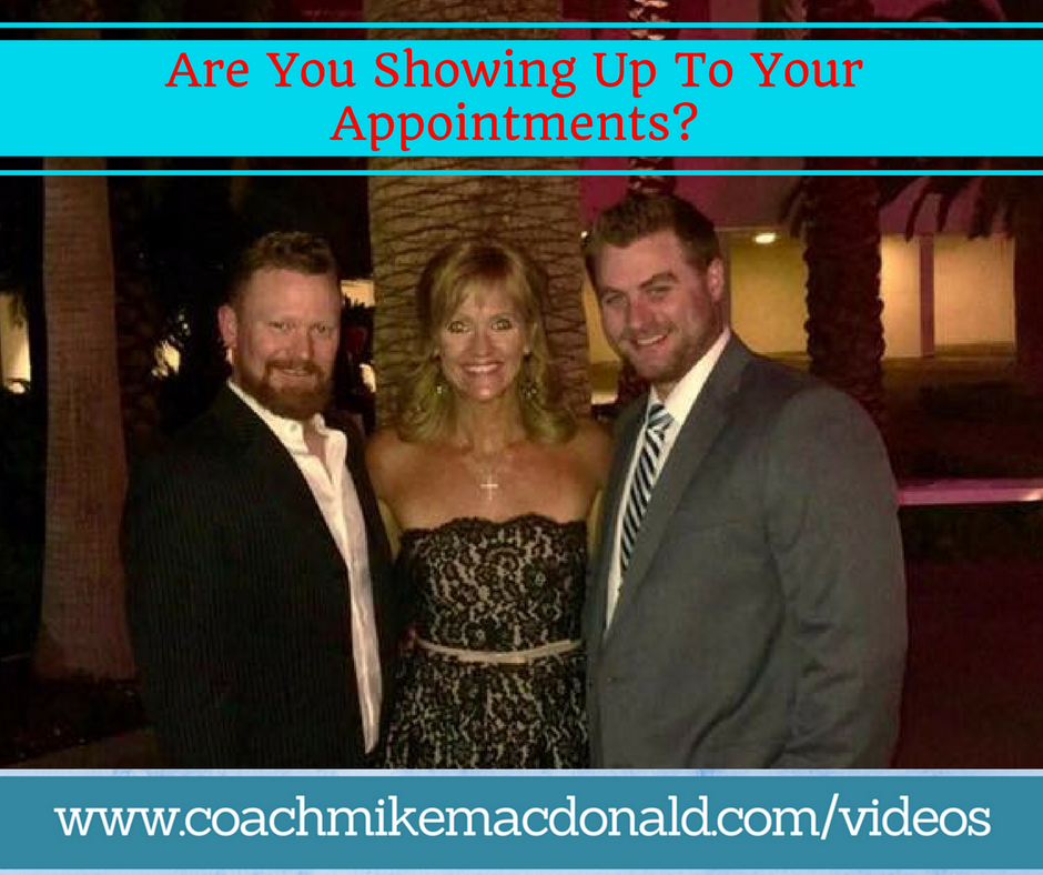 Are you showing up, showing up, leadership, leadership development