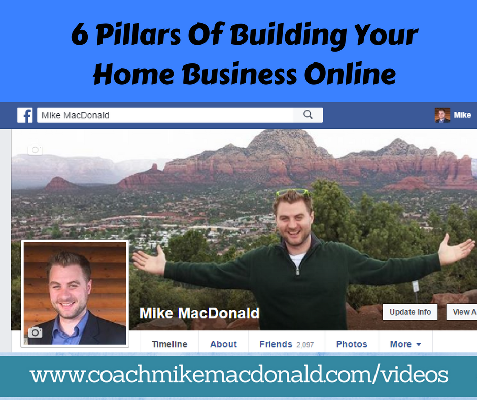 6 Pillars Of Building Your Home Business Online