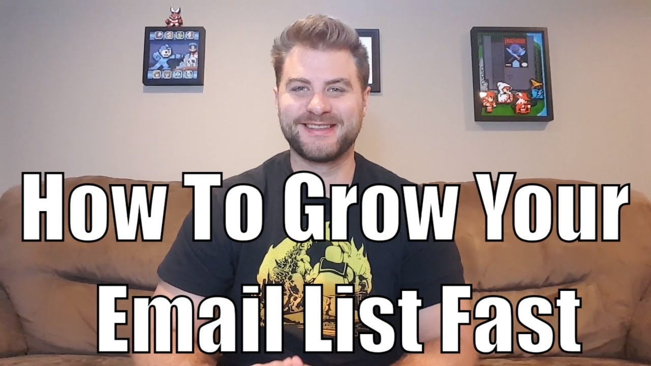 how to build an email list for your business Archives